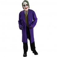 Carnival Dress THE JOKER Boy Child BATMAN Dark Knight Rubie's