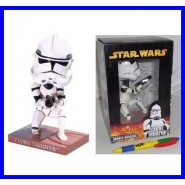 FIGURA Collezione CLONE TROOPER Soldato STAR WARS Bobble Head NUOVA Originale !