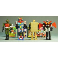 CHOGOKIN Set 4 Figure MINI ROBOT Parte 1 POPY Originali BANDAI Japan MAZINGA etc