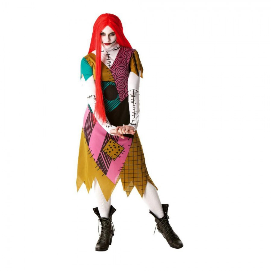 Costumi Halloween Adulti.Costume Carnevale Sally Donna Nbx Adulto Rubie S Rubies Disney Nightmare Xmas
