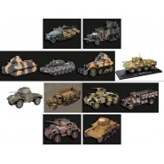 MODEL Die Cast TANK Army Vehicle 1:43 CARRO ARMATO Metal Model EAGLEMOSS