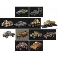 MODELLINO Die Cast TANK Veicolo Militare 1:43 CARRO ARMATO Metal Model EAGLEMOSS