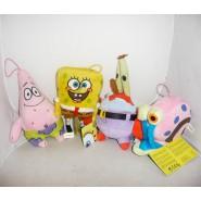 PELUCHE Spongebob Squarepants 20cm PATRICK GARY MR CRAB Originale