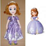 Stupendo Peluche SOFIA PRINCIPESSA Grande Enorme 62cm Japan NUOVO New THE FIRST