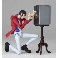 Lupin III 3rd Action Figure LUPIN LR-025 Kaiyodo Legacy Of Revoltech