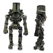 PACIFIC RIM Figura Action JAEGER CHERNO ALPHA 45cm Luce LED Originale NECA USA