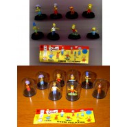 SIMPSONS Raro SET 8 Figure CAPSULE PART 1 Tomy BART HOMER MARGE LISA CANE etc. !