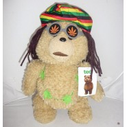TALKING Plush 30cm 12'' TED Bad Bear Dressed as RASTA