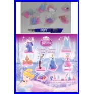 RARO Set 7 Figure Collezione CENERENTOLA DIORAMA Cinderella DISNEY ORIGINAL Tomy