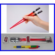 DARTH VADER FENER Coppia BACCHETTE CINESI Sushi STAR WARS Spade Laser CHOPSTICKS