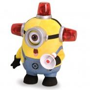 MINION BEE-DO Fireman PELUCHE Parlante 30cm CATTIVISSIMO ME Minions