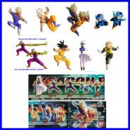 RARO SET 8 Figure Gashapon DRAGONBALL Z PART 16 Originali BANDAI Japan 2007
