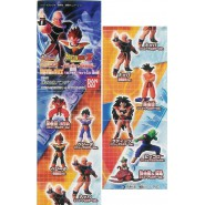 Raro SET 7 Figure DRAGONBALL Z SPECIAL SAIYAN TEAM Gashapon BANDAI JAPAN