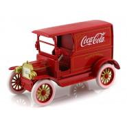 Modellino COCA COLA Furgone FORD MODEL T 1917 Rosso 1/24 Motor City VINTAGE Coke