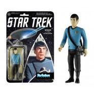 STAR TREK Figura Action SPOCK 10cm NORMAL VERSION Originale FUNKO ReACTION