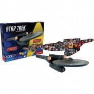 PUZZLE 600 Pezzi NAVE STAR TREK Original Serie Ship Ufficiale Jigsaw NUOVO New