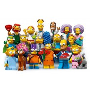 SIMPSONS Mini LEGO SERIE 2 COMPLETE SET 16 FIGURES 71009