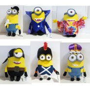 MINIONS Movie 2015 Plush MINION Big 40cm Original KEVIN BOB STUART Dressed