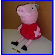 Prezzo Shock PEPPA PIG Peluche GIGANTE XXL 70cm VESTITO ROSSO Enorme ORIGINALE