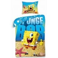 COPRIPIUMINO Set Letto SPONGEBOB Movie 140x200 FILM 2015 Originale
