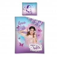 "VIOLETTA ""HEADPHONES"" Bed Set 100% COTTON Duvet Cover"