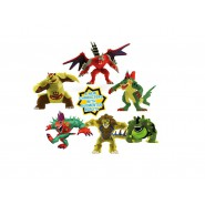 INVIZIMALS Box Set 6 FIGURE + CARDS Carte RESONANT 5cm Originale Ufficiale IMC TOYS Nuovo