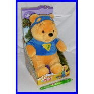 SUPER OFFERTA Peluche WINNIE POOH EROE Con BOX ORIGINALE DISNEY Nuovo BELLO !!