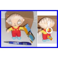 PLUSH 13cm STEWIE GRIFFIN Keyring Family Guy