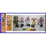 SET 5 Figure Collezione 10cm LE BIZZARRE AVVENTURE DI JOJO Bandai JAPAN Rare NEW