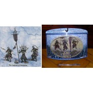 Signore degli Anelli BOX SET 3 Figure LEGIONS OF HARADRIM Play Along USA Lotr AOME
