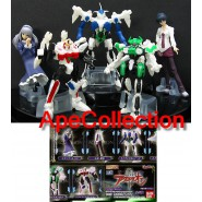 RARO SET 5 Figure AQUARION ROBOT Gashapon BANDAI JAPAN Nuove PERFETTE Offertona