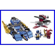 KIT Set BLUE RANGER Contro vs XANDRED Power Rangers MEGA BLOKS Nuovo ORIGINALE