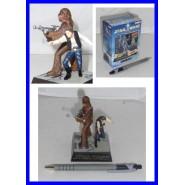 Star Wars HAN SOLO E CHEWBACCA Diorama Trading Figure TOMY JAPAN Raro NUOVO NEW