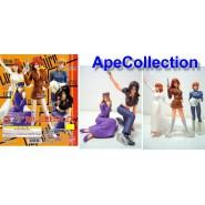 SET 5 Figure LUPIN THE 3rd GIRLS COLLECTION Gals FUJIKO etc. da BANDAI JAPAN !!!
