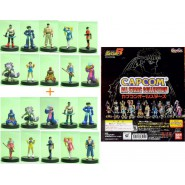 RARO SET 20 Figure CAPCOM VIDEOGAMES STARS Street Fighters etc. BANDAI JAPAN Gashapon