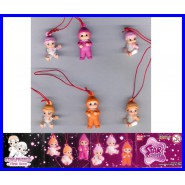Bandai SET 6 Figure STAR FRIENDS BABY Babies LACCETTO Danglers Swing GASHAPON