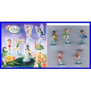 Set 5 Mini Figure DISNEY FAIRIES FATE FATINE Campanellino Tinkerbell FLORA etc.