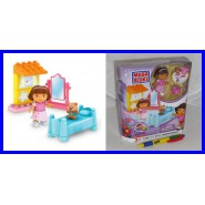 PLAYSET Building Kit DORA Explorer BEDROOM Mega Bloks