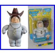 GRIFFIN Figura Action PETER Astronauta Cowboy 15cm MEZCO Family Guy NUOVA NEW