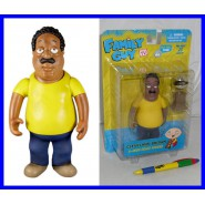 GRIFFIN Figura Action CLEVELAND BROWN con Trofeo 15cm MEZCO Family Guy NUOVA NEW