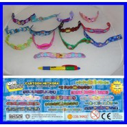 CARTOON NETWORK Set 13 WRIST Fashion BANDS BABY Braccialetti ORIGINALI