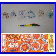DISNEY LILO And STITCH Set 6 BANDS Bracialets Fashion ORIGINAL COOL THINGS Italy