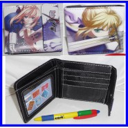 PORTAFOGLIO Taccuino FATE STAY NIGHT NEW Blister WALLET Saber Mantello Blu