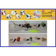 BANDAI Set 6 figure NINTENDOGS NINTENDO DOGS PART 4 LACCETTO Swing Dangler RARE