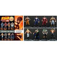 RARE SET 8 Figures KEN SHIRO Warrior PART 3 GASHAPON Collection BANDAI JAPAN