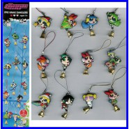 SET 12 Figure SUPERCHICCHE XMAS Laccetto Dangler POWERPUFF GIRLS Pendants RARE