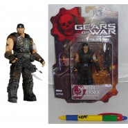 GEARS OF WAR Figura Action MARCUS FENIX 10cm Serie 1 ORIGINALE Nuova NECA USA