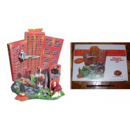 Kinder RARO DIORAMA Tedesco Set INCREDIBILI Red City DA COSTRUIRE Limitato 1200