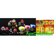 RARISSIMO Set 9 Figure SUPER MARIO Donkey Kong TOAD etc. Yujin JAPAN Guardale