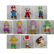Plush SUPER MARIO BROS Fuoco 30cm ORIGINAL Nintendo KART GALAXY New